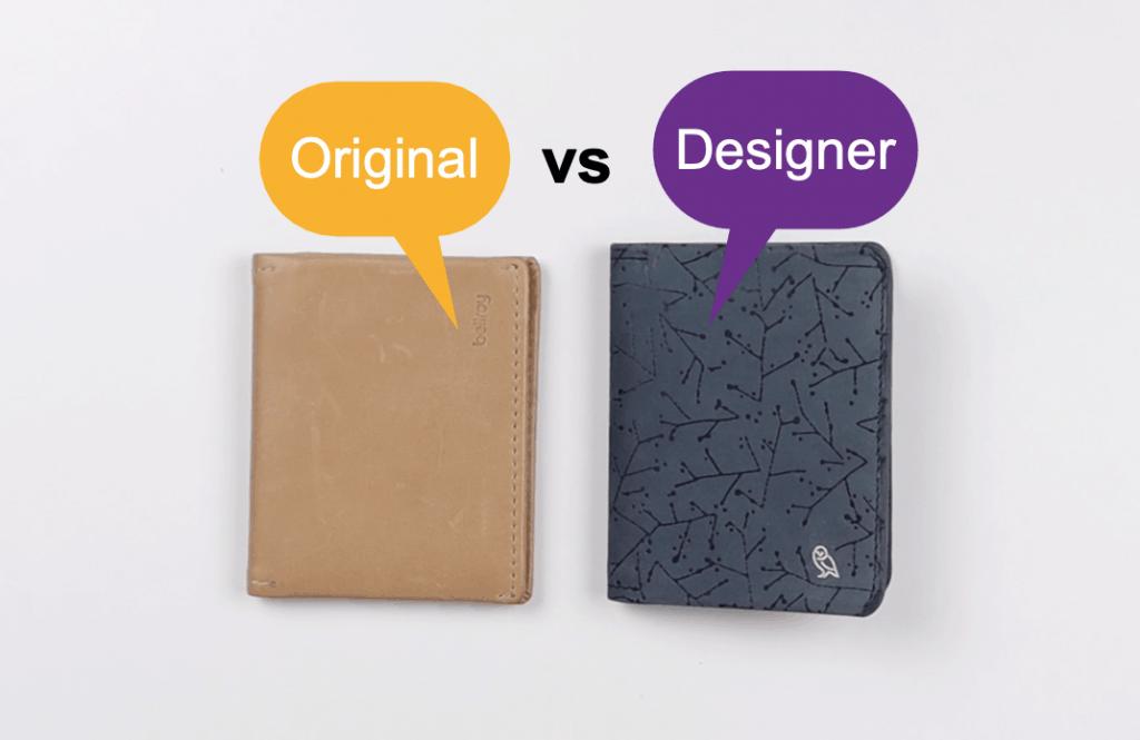 Bellroy Slim Sleeve original designer comparison