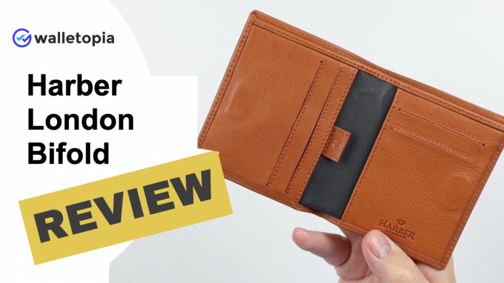 Harber London bifold wallet review