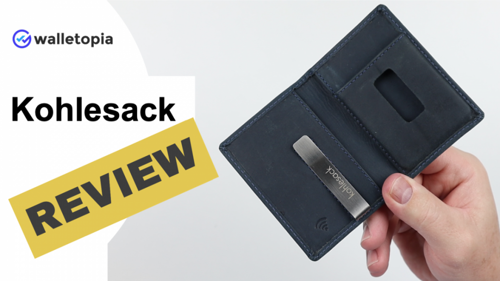 Kohlesack wallet review