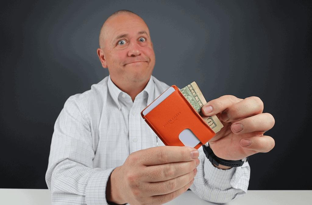 Anson Calder Cash wallet
