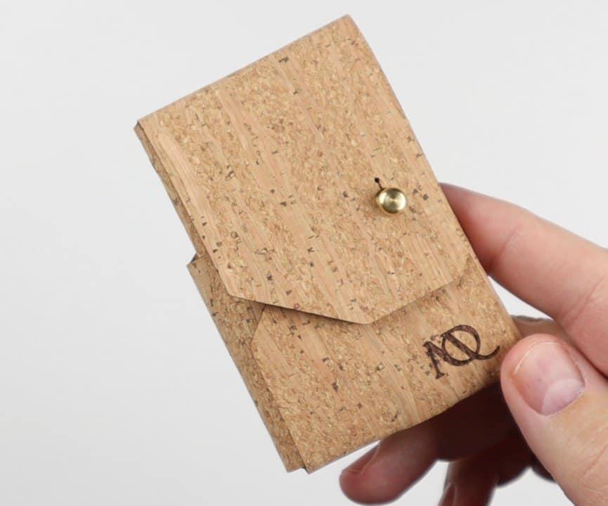 Moral Origin Cork Wallet