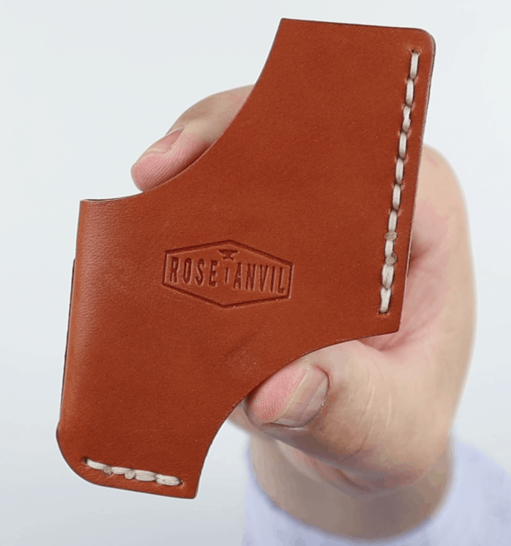 Rose Anvil Claude wallet