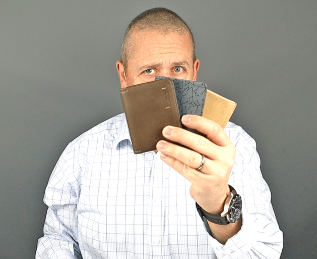 Bellroy Slim Sleeve wallet comparison