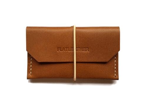 Flat Leather—Flat Card