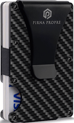 Pirna Carbon Fiber Slim wallet