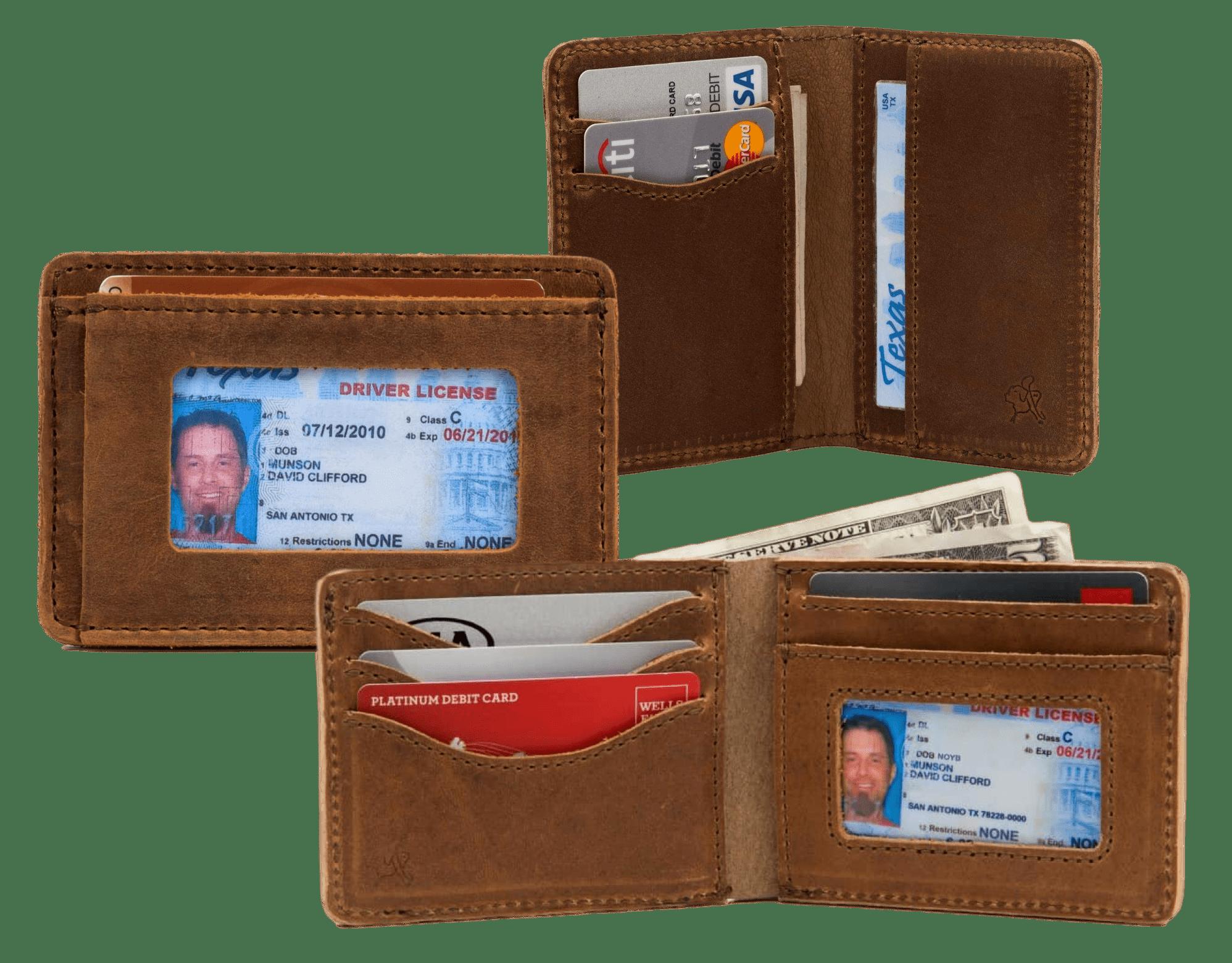 Saddleback Slim Bifold Wallet