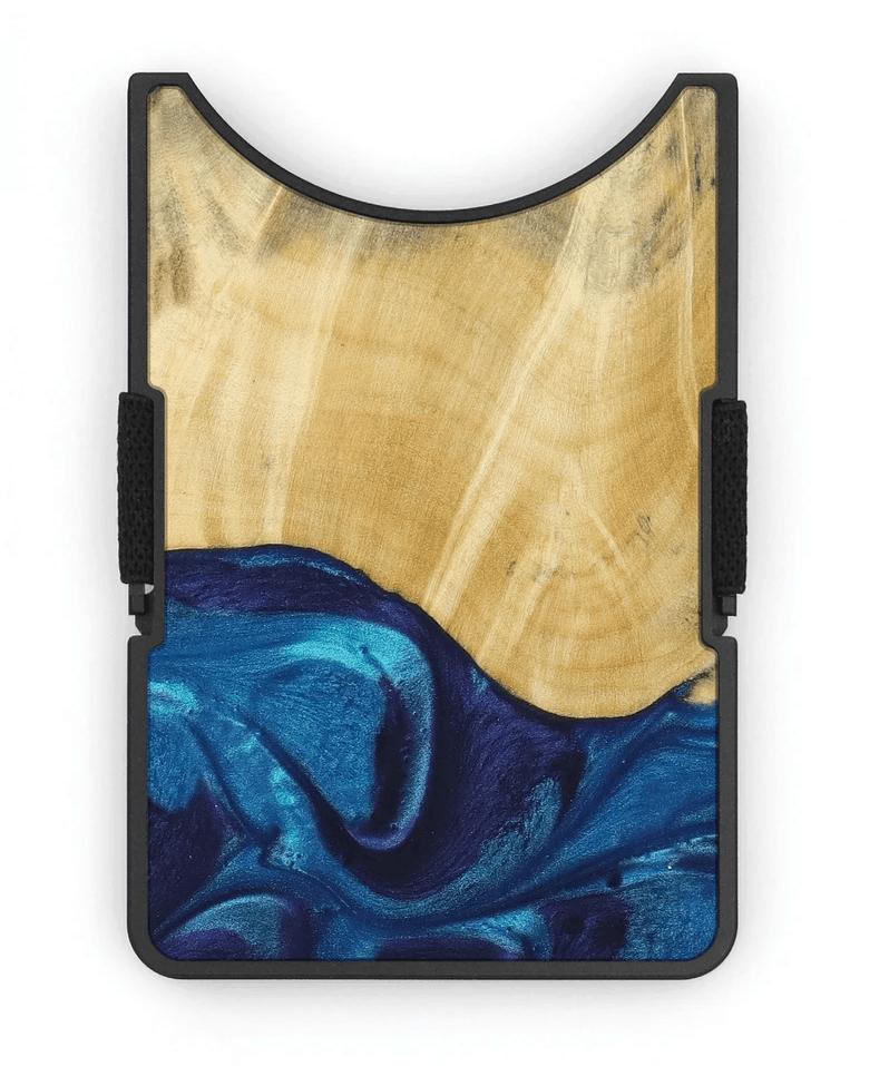 Carved Alloy Wallet