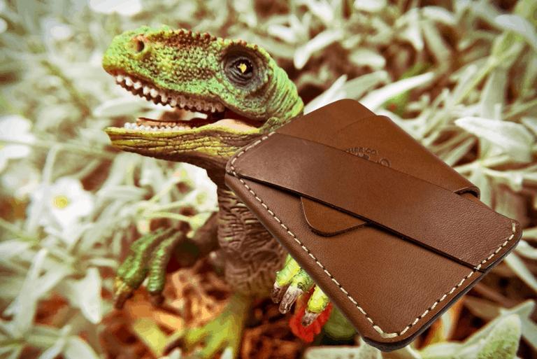 Alpha Leather Wraptor wallet