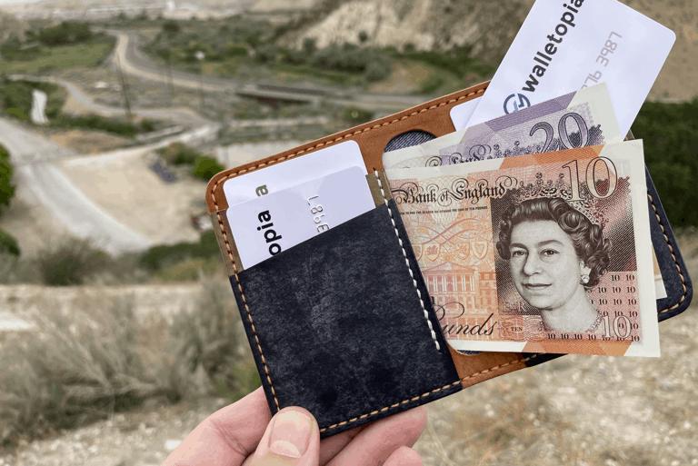EJV 4 Pocket Bifold wallet