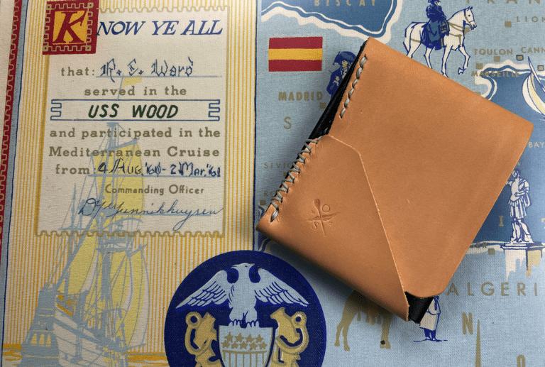 Open Seas Leather Topside Billfold wallet
