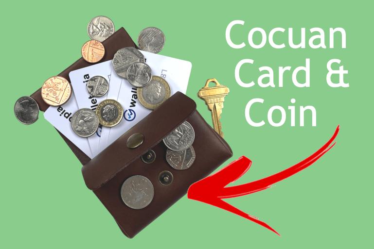 Cocuan Coin Card Wallet